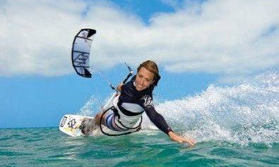 Professional Kitesurfing Lessons Offered in Cancún, Mexico