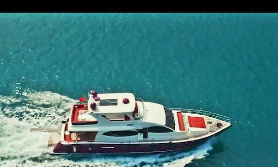 Charter 59' Power Mega Yacht In İstanbul, Turkey