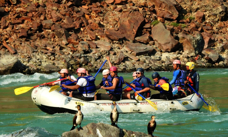 rafting in Rishikesh india