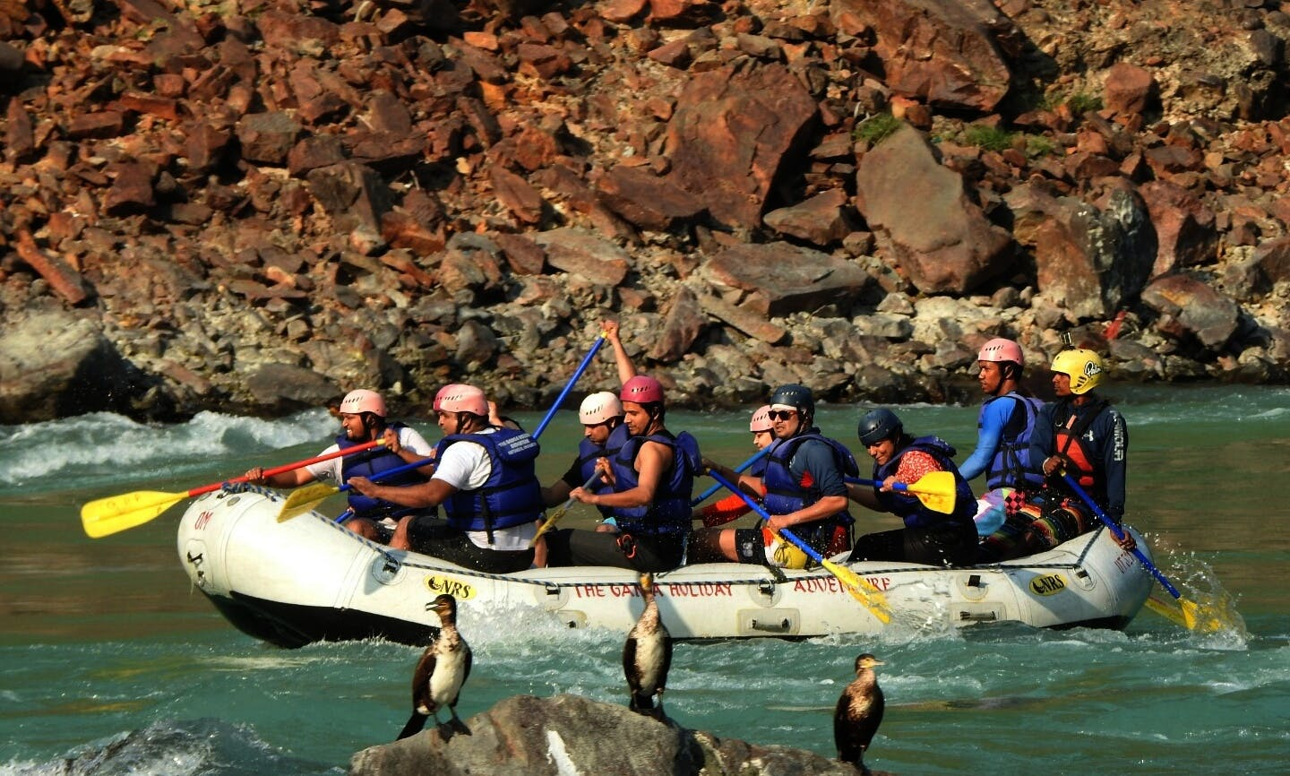 Rafting Adventure on Ganges River in Rishikesh, india