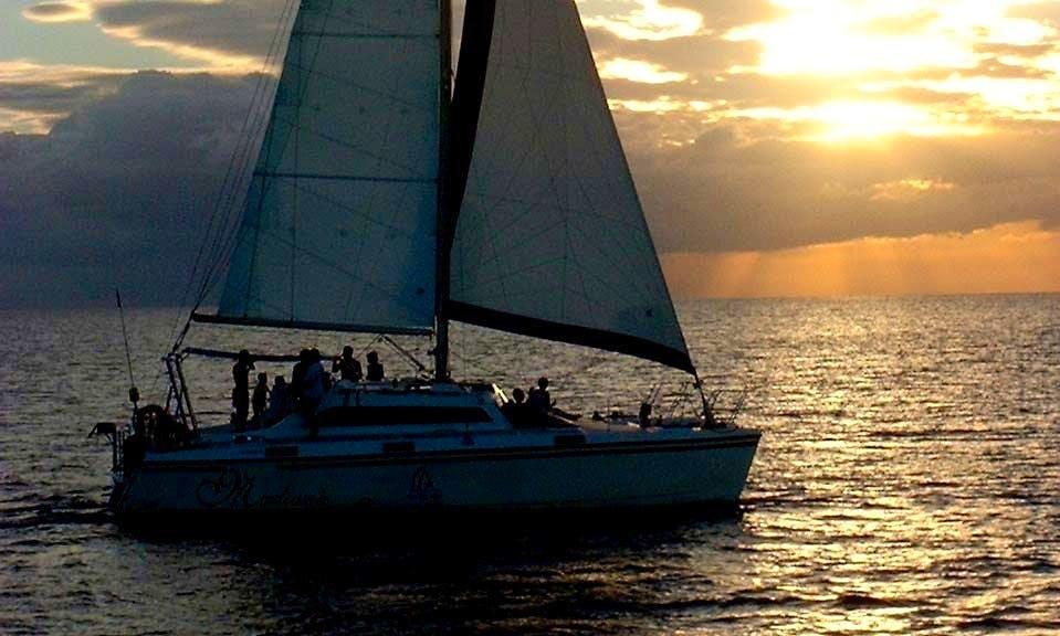 Catamaran Sunset Cruise in Black River