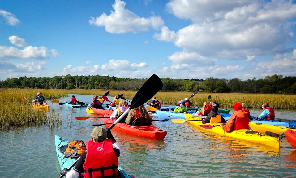 Double Kayak Rental in Cape Charles