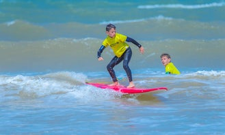 Private and Group Surf Lessons with a Professional Instructor in Essaouira, Morocco