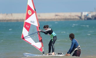 Professional Instructor of Windsurfing Lessons in Essaouira, Morocco