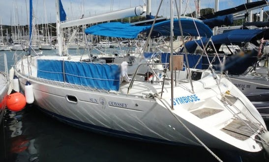 Charter 47' Sun Odyssey 47 Cruising Monohull In Castries City, Saint Lucia