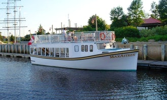 "River Boat Trips on the ""Max Aitken"" in Miramichi River"