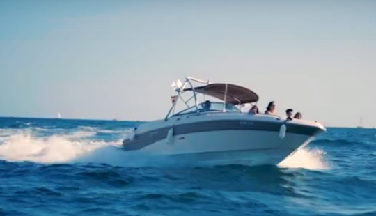 Amazing Sea Ray 260 Motor Yacht Rental In Mallorca, Spain!