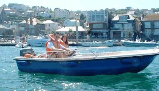 Hire 13' Fiberglass Boat In Salcombe