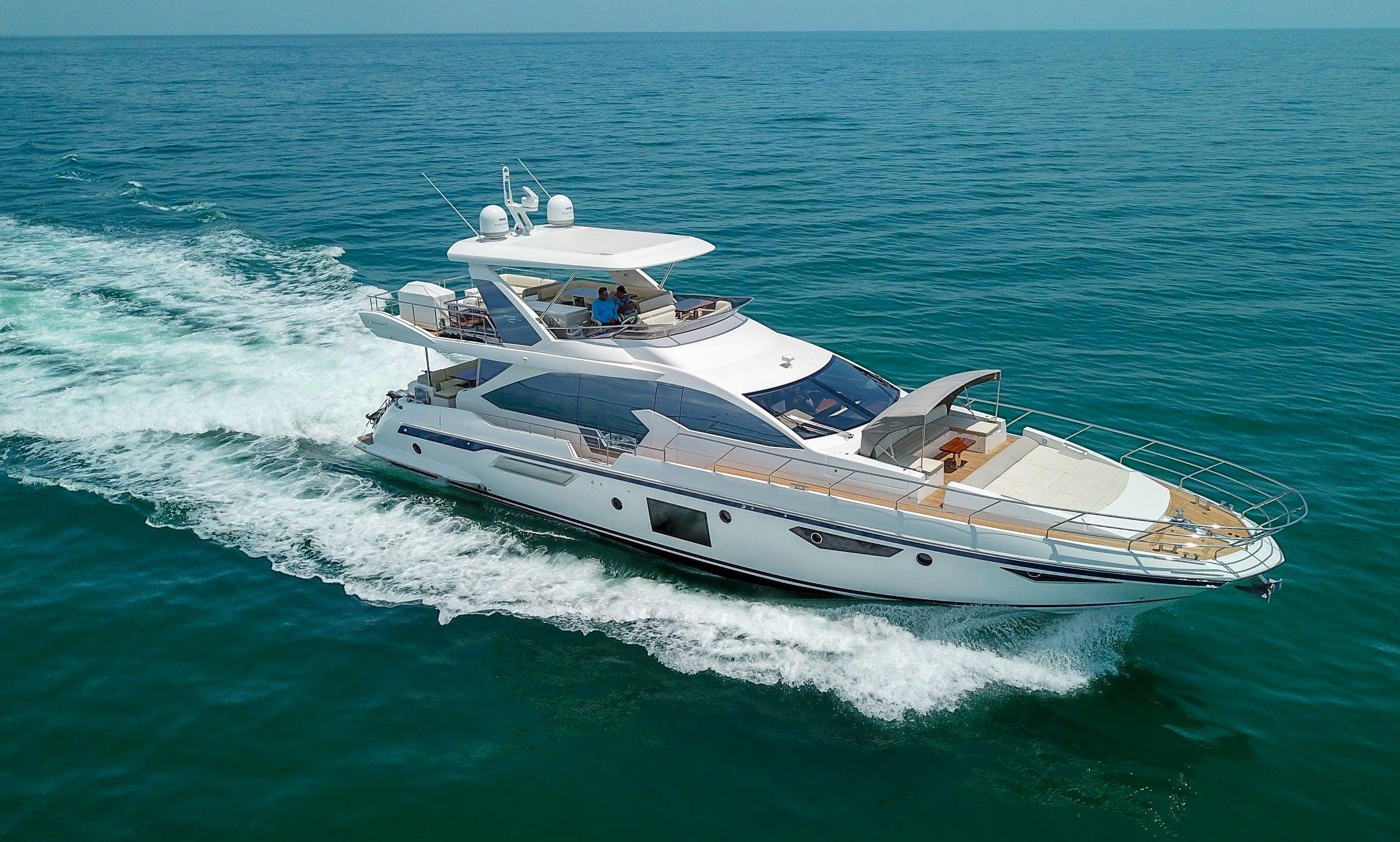 Luxury Style 72' Azimut Yacht