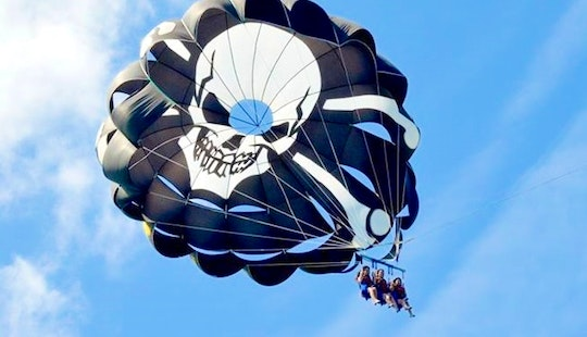 Parasailing Adventure In Fuengirola, Spain