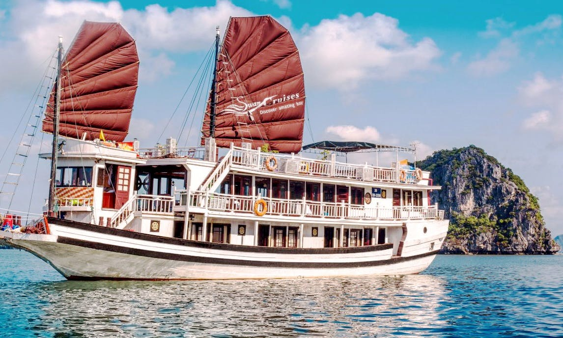Amazing Swan Cruise in Halong Bay, Vietnam
