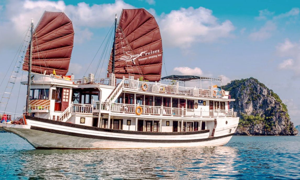 Amazing Swan Cruise in Halong Bay, Vietnam