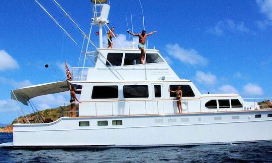 Motor Yacht Rental In Bvi