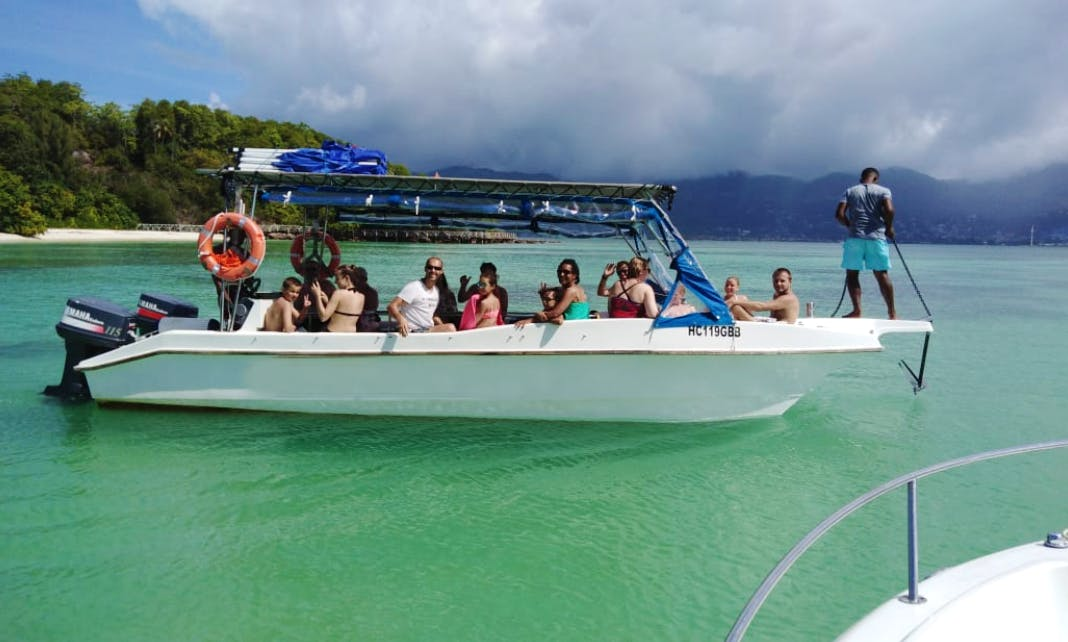 Exciting Reef Safari Boat Trip in Victoria, Seychelles