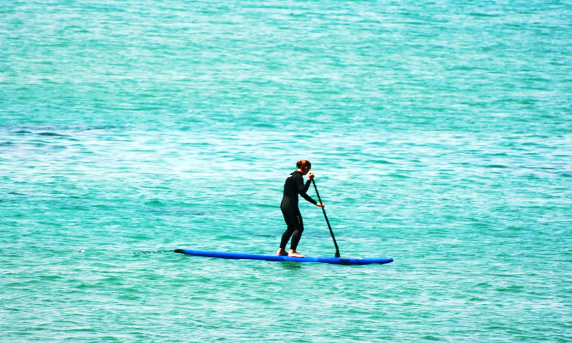 Paddleboard Rental and Group Lesson in Tangier, Morocco