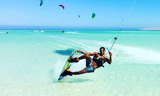 Kitesurfing Lessons With Professional Instructor In Hurghada, Egypt