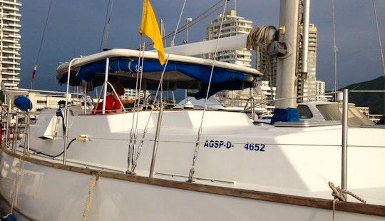 Monohull 55 Ft Sailboat Rental In Santa Marta