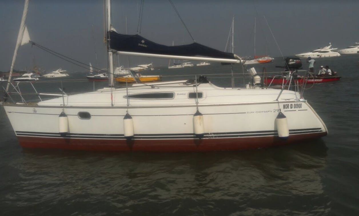 Charter a Jeanneau Sailboat in Mumbai, India for 10 person!