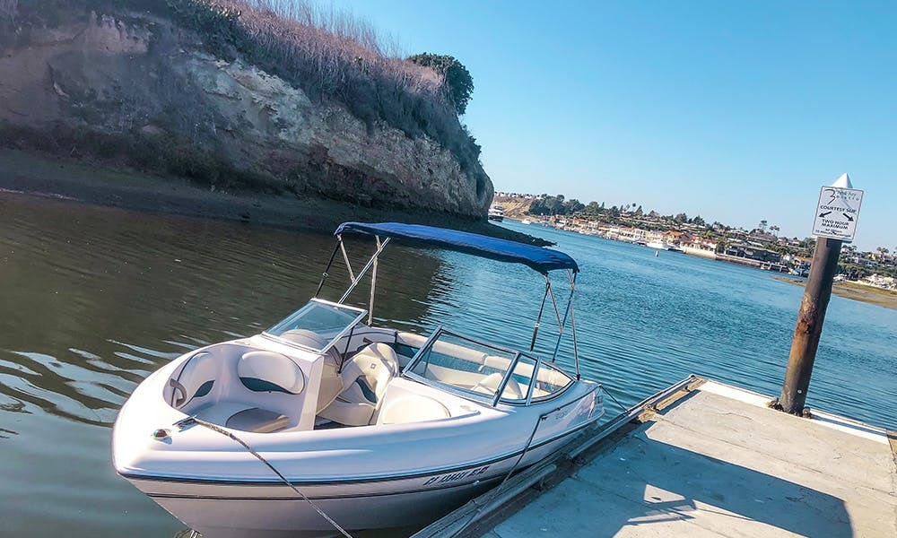 Bowrider Rental in New-Port Beach