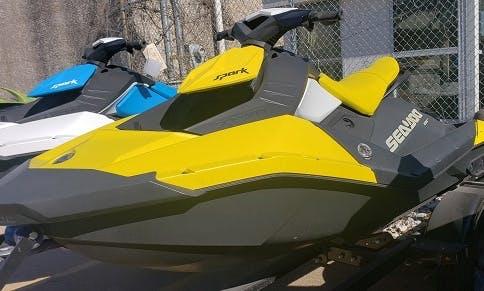 Sea doo Spark Jet Ski Rental in Irving, Texas