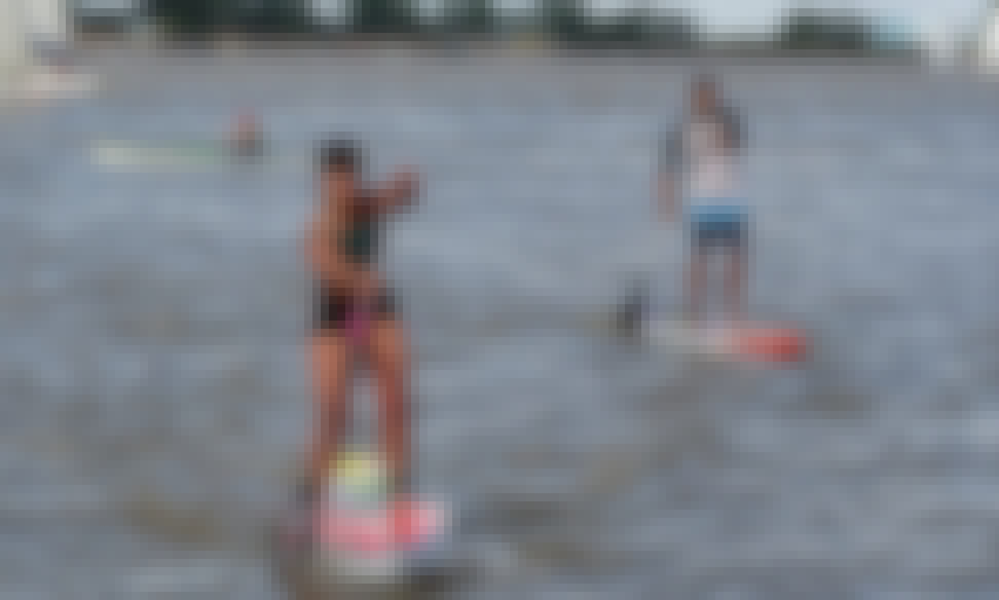 Private Paddleboard Lesson with Professional Instructor in Rosario, Argentina