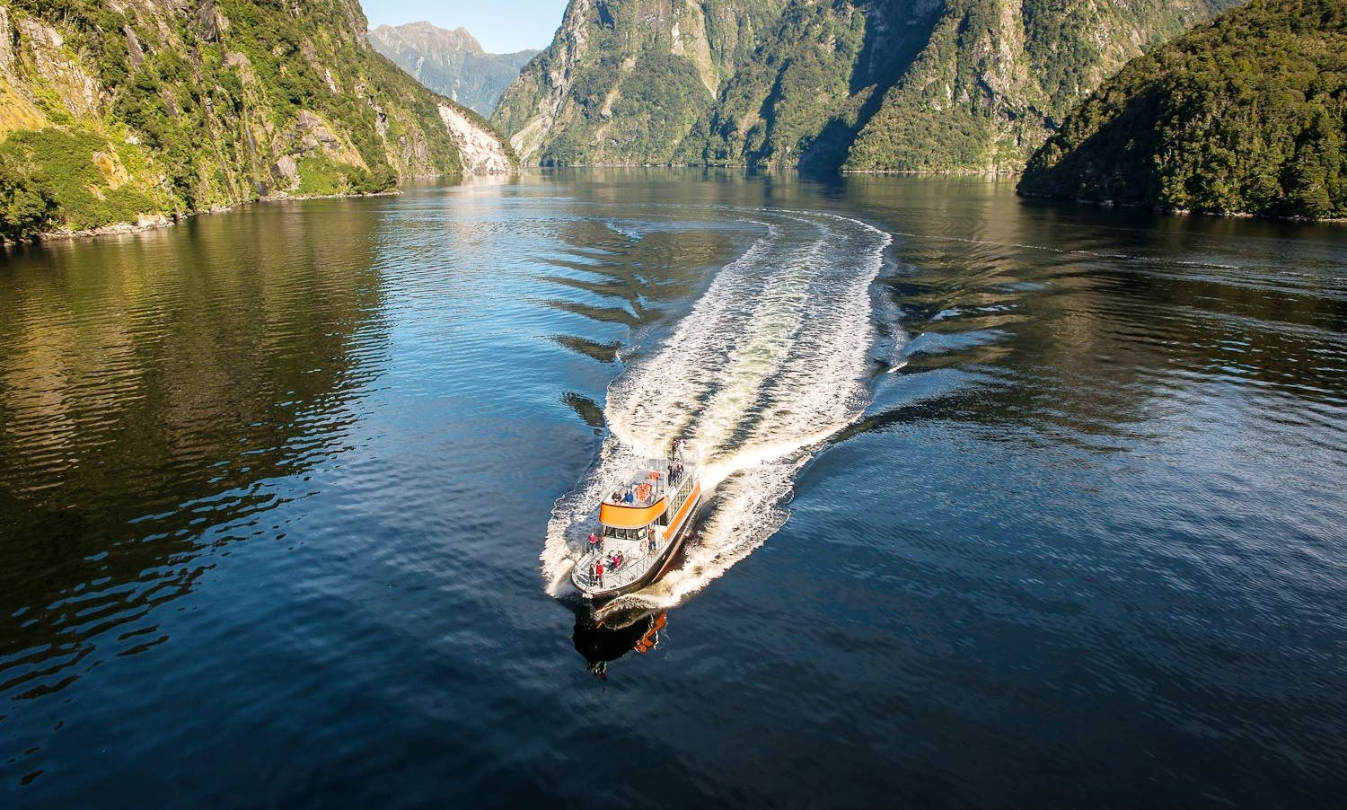 Milford Sound Cruise from Queenstown, New Zealan