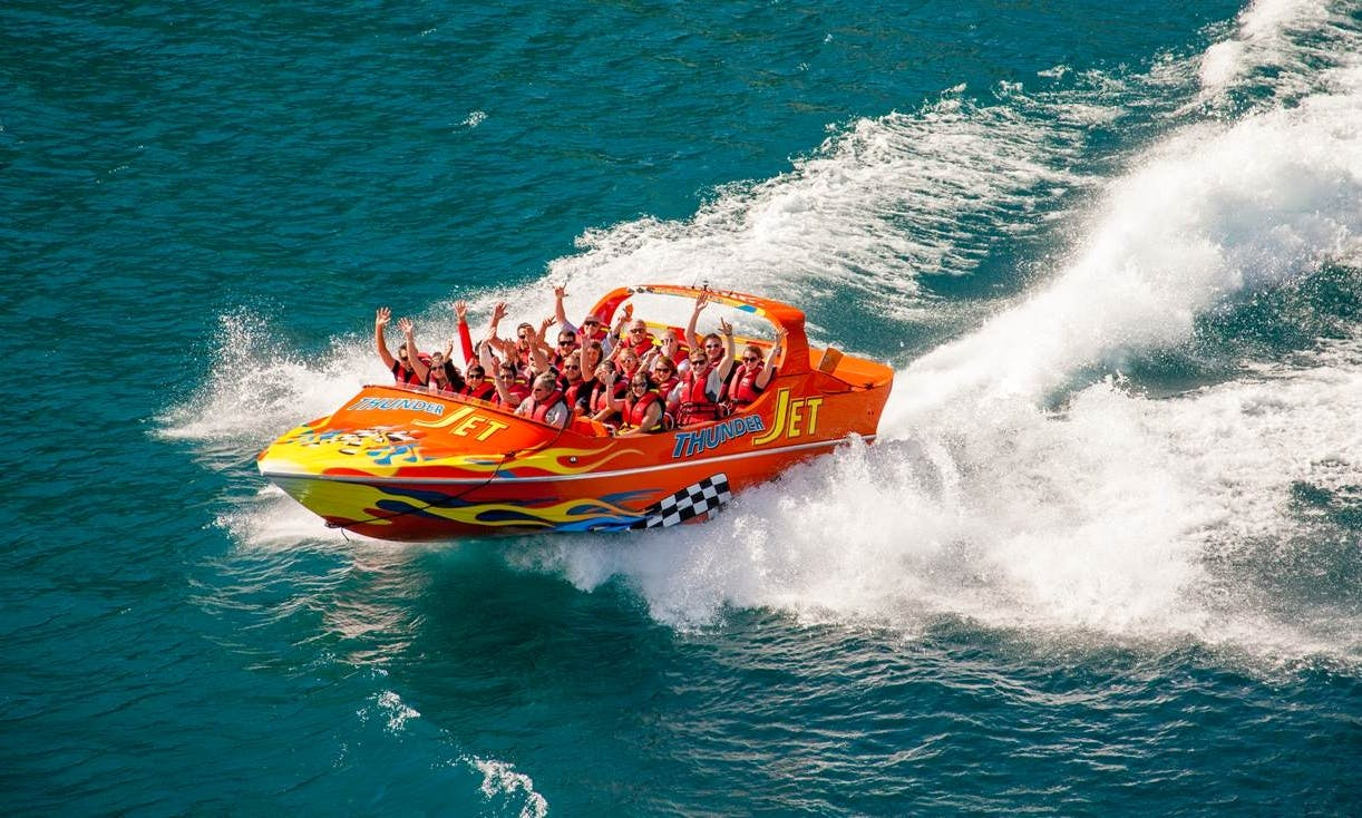 Jet Boat Tour - 25 Minutes Exciting Ride in Queenstown, Otago