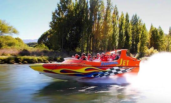 60 Minute Jet Boat Ride In Queenstown, New Zealand