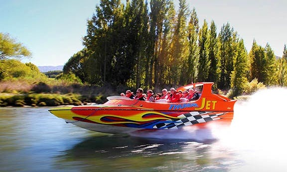 60 Minute Jet Boat Ride in Queenstown, New Zealand