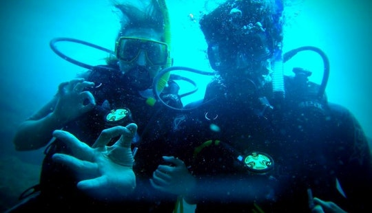 Padi Certification Scuba Lessons Offered In Baga, India