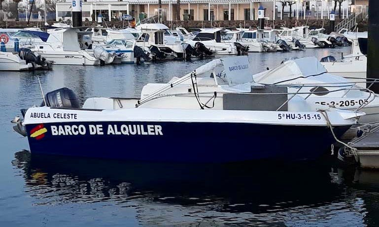 """Book a """"Grandmother Celeste"""" Motor Yacht in Isla Cristina, Spain For 5 Person!"""