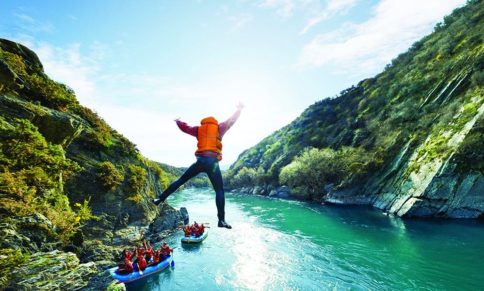 Kawarau River Rafting Trip - The Lord of the RIngs Filming Location