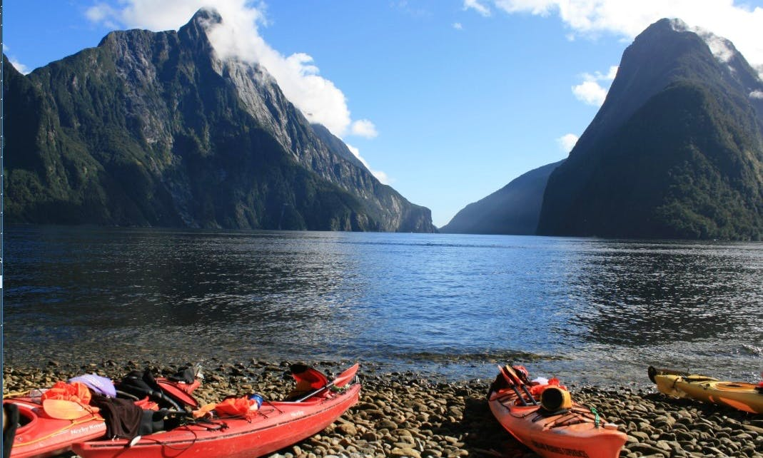 Kayak and Milford Track Experience