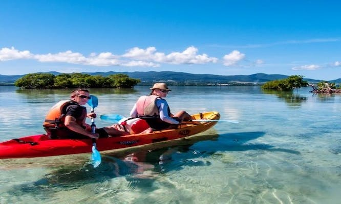 A Relaxing Canoeing in Sainte Rose, Guadeloupe!