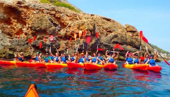 Join Us For Some Fun And Kayaking Adventure In Dénia, Spain