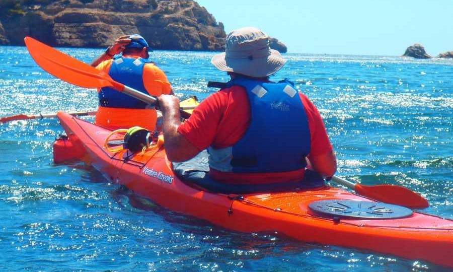 Initiation Course Kayak in Dénia, Spain