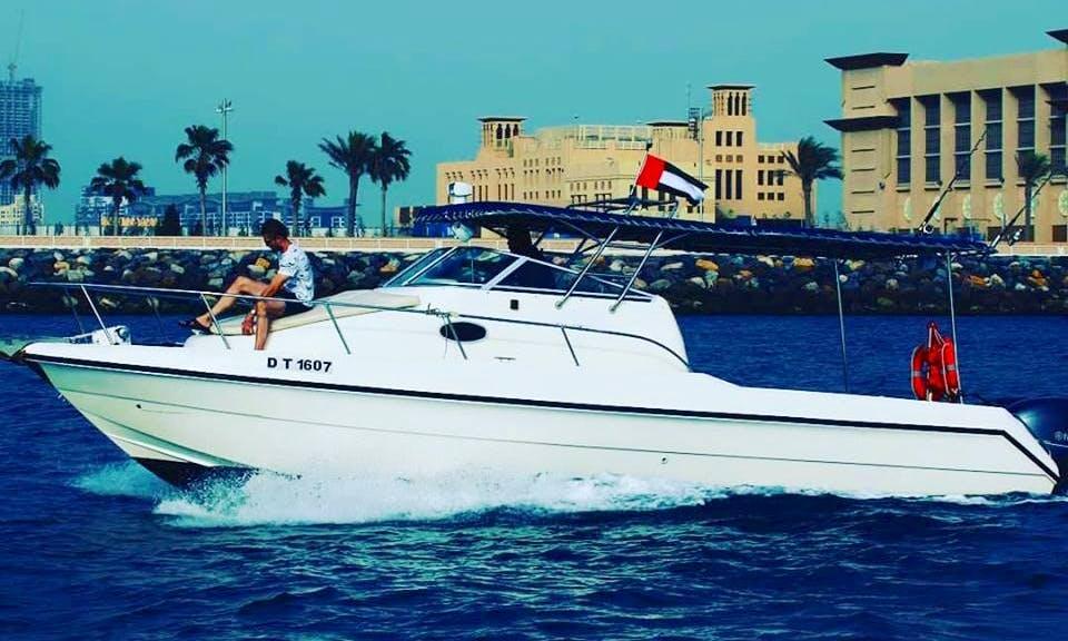 Crewed 31' Fishing and Cruising Boat in Dubai, United Arab Emirates