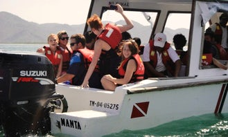 PADI Open Water Courses with Certified Instructor in Manta, Ecuador