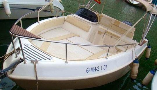 Eden 22 Motor Boat Rental In Ciutadella De Menorca, Spain