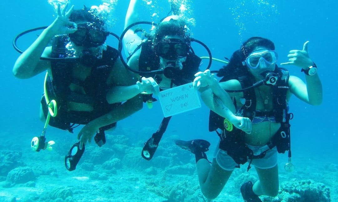 PADI Open Water Diver Course in Terengganu, Malaysia