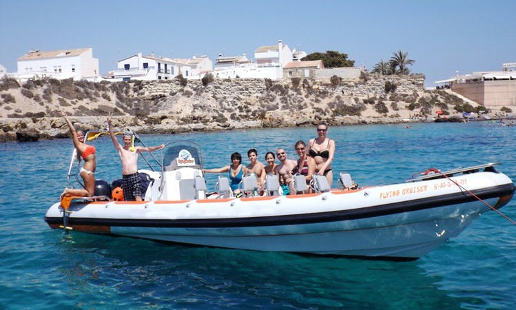 Flying Cruiser Speed Boat from Alicante to Isla de Tabarca