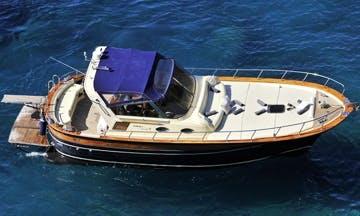 Aprea 36 - luxury gozzo to explore the Amalfi Coast and Capri