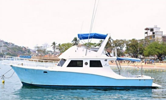 Nautica 48 Motor Yacht Charter For Up To 15 People In Acapulco, Mexico