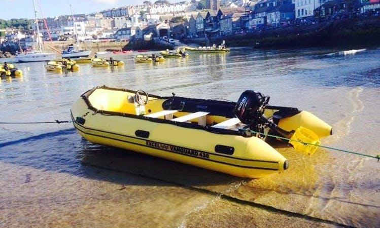 Self Drive Excel Boat Rental in Carbis Bay