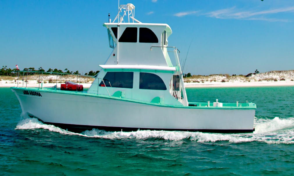 Head Boat fishing charter in Destin