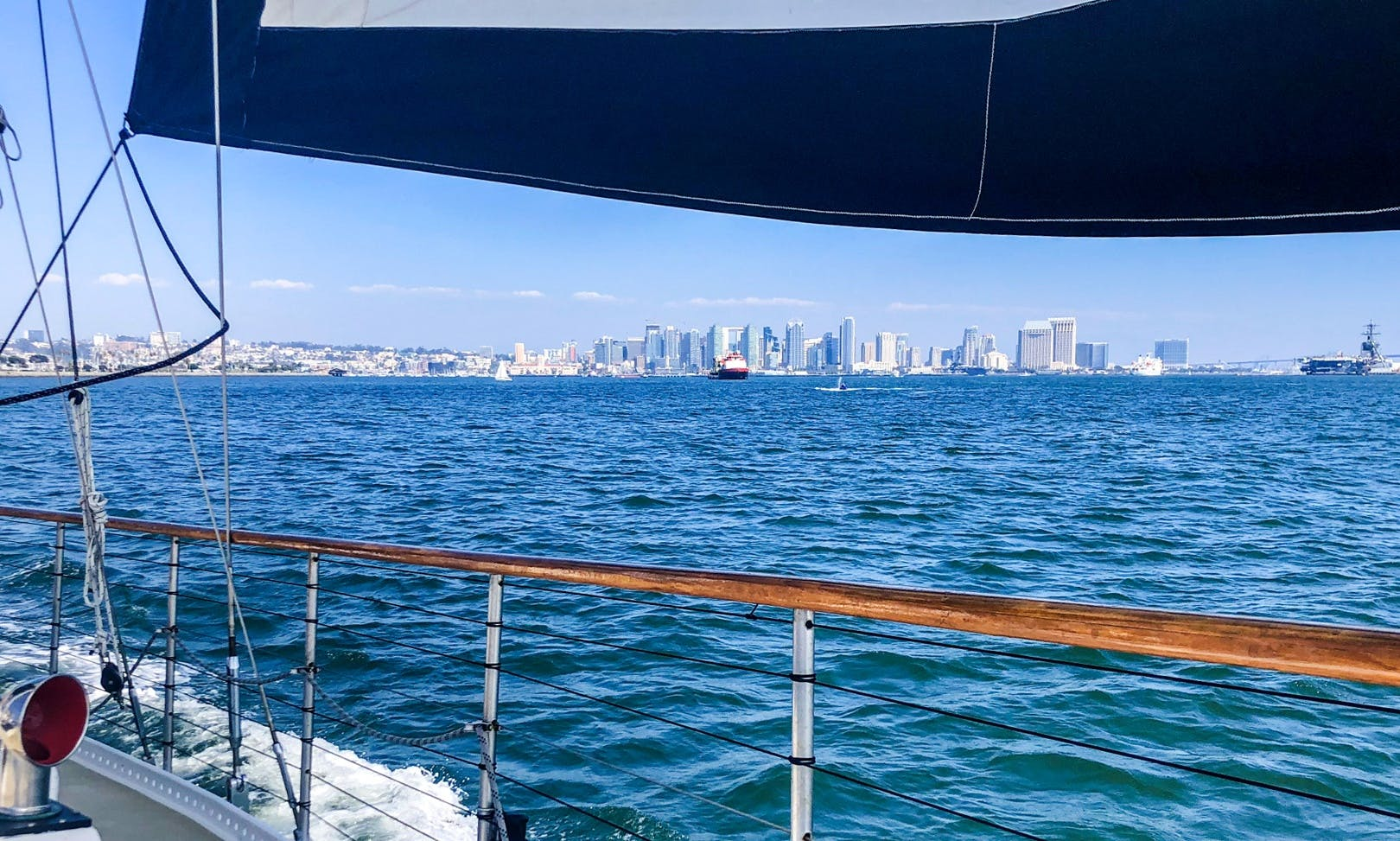 Charter a 55' Sailing Ketch for 27 People in San Diego, California