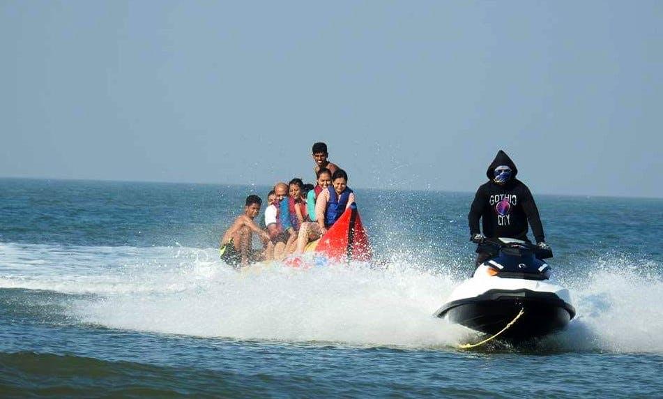 Banana Boat Rides in Diveagar Beach, Maharashtra