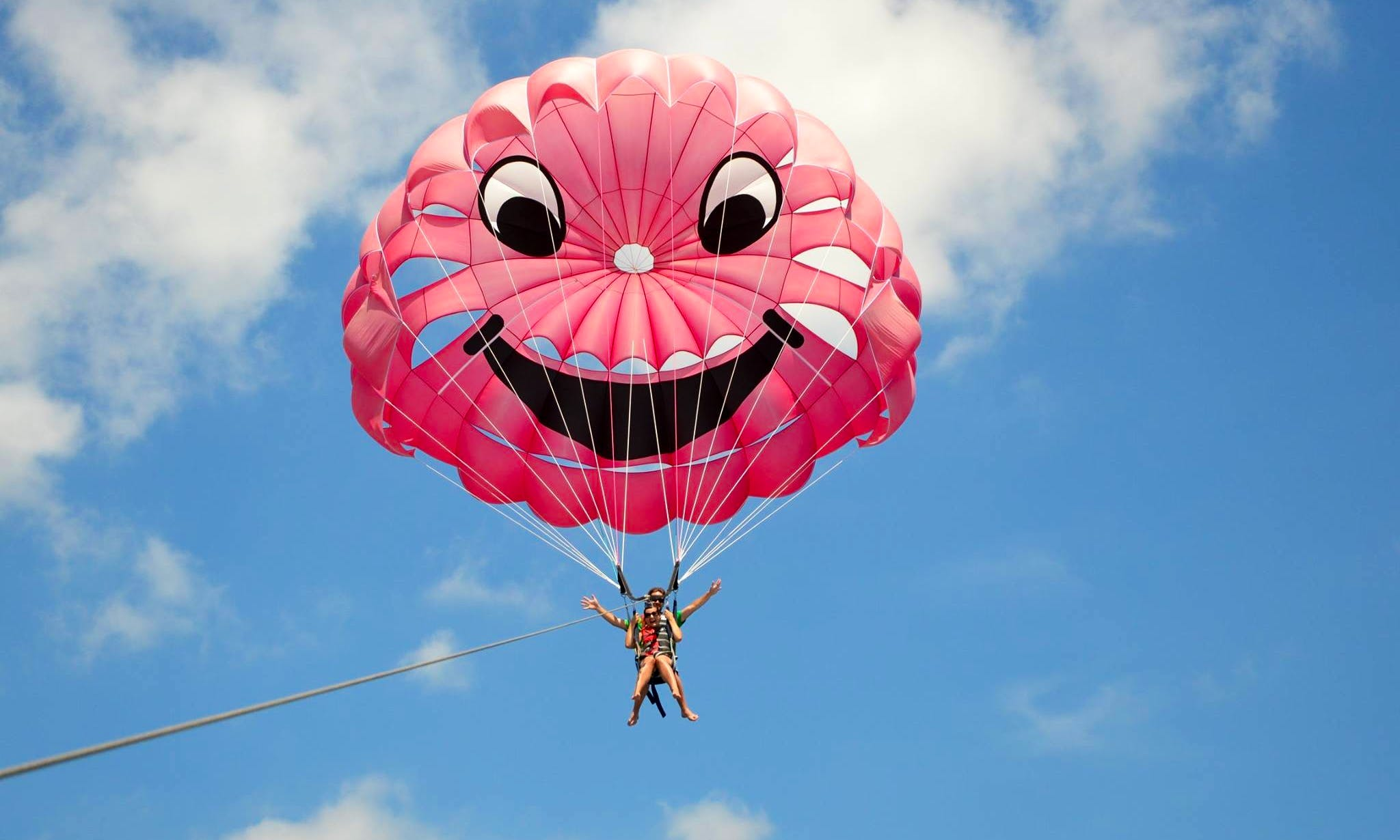 Parasailing Adventure for 2 People in Budva, Montenegro