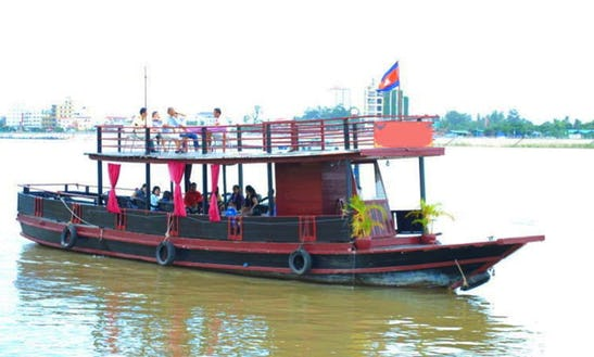 Wooden Boat Cruises In Phnom Penh