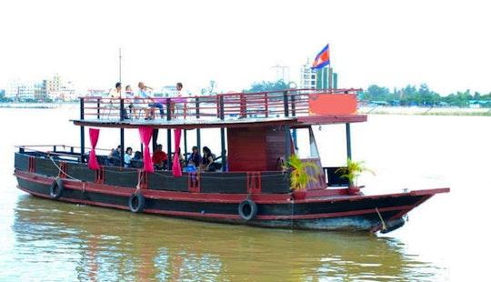 Wooden Boat Cruises In Phnom Penh